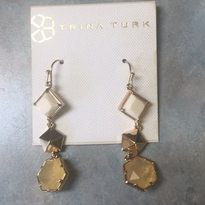 Trina Turk hanging earrings